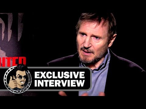Liam Neeson Exclusive THE COMMUTER Interview (2018)