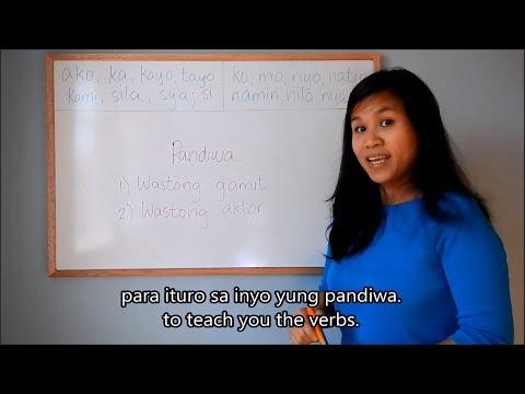 Learn Tagalog (Filipino) Lesson 8: Verbs (Part 1) (Pandiwa), Grammar; English Tagalog Subtitles