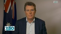 Christian Porter discusses the Government's new approach to industrial relations | 7.30