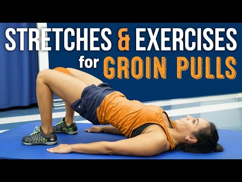 Stretches & Exercises for Groin Pulls (Adductor Strain)