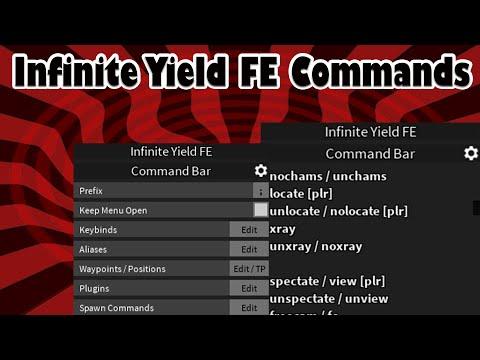 INFINITE YIELD FE ADMIN COMMANDS Roblox Script Reviews