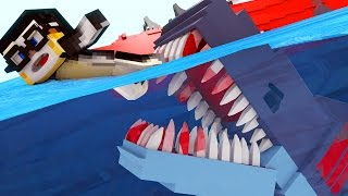 Jaws Movie - Shark Attack Investigation! (Minecraft Roleplay) #2