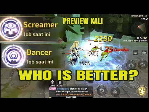 Preview KALI (new class dn m) | Dancer or Screamer?  Dragon Nest M SEA