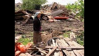 В поселке Орловка снесли первый дом