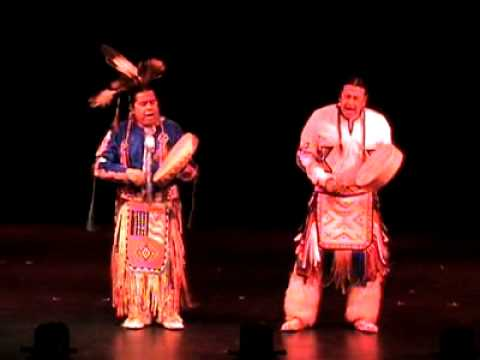 Kevin Locke Native Dance Ensemble - Native Drumming, Wolf, and Oneida Song