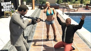 What Happens if MICHAEL CATCHES FRANKLIN With TRACEY in GTA 5!