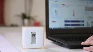 Netatmo thermostaat - Verbinding met het wifi-netwerk computer