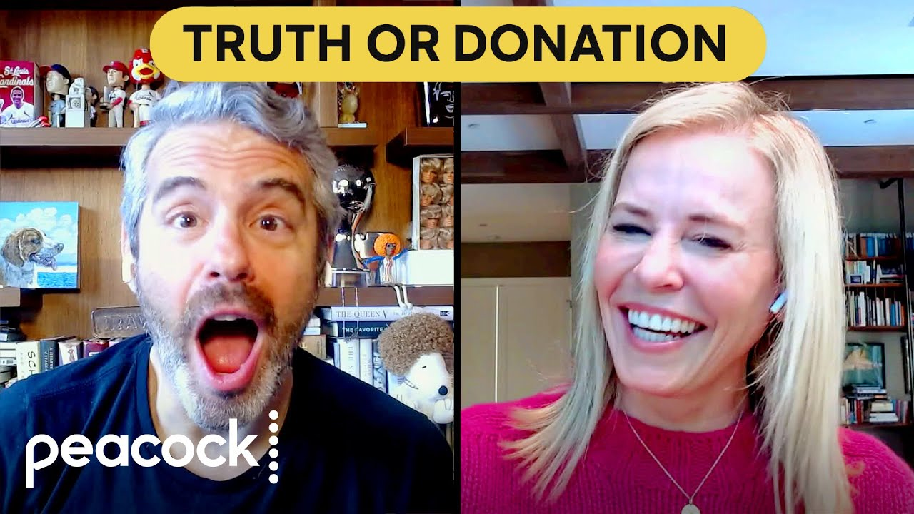 Andy Cohen and Chelsea Handler Play Truth or Donation | Peacock At-Home Variety Show