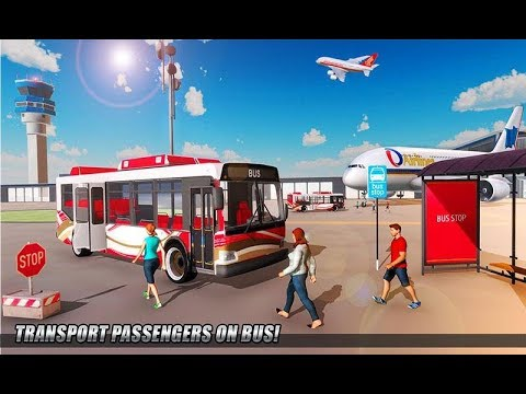City Airplane Flight Tourist Transport Simulator Gameplay Android HD Video