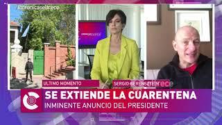 Sergio Berensztein explicó por qué Alberto Fernández no quiere levantar la cuarentena