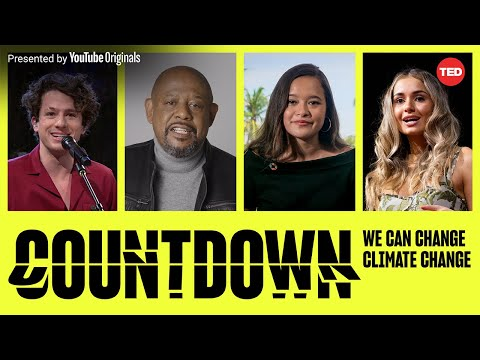 TED Countdown Global Livestream 2021: Join us October 30 @ 12pm ET