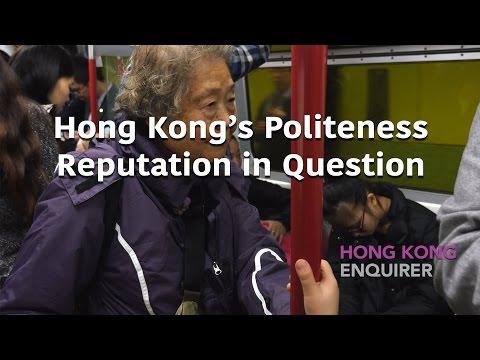 Hong Kong's politeness reputation in question - 2016 Feb