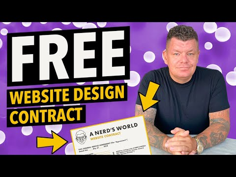 My Web Development Contract - Free Template !