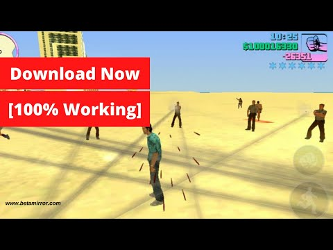 GTA Vice City For Android In 2020 - (APK + OBB) Download Now