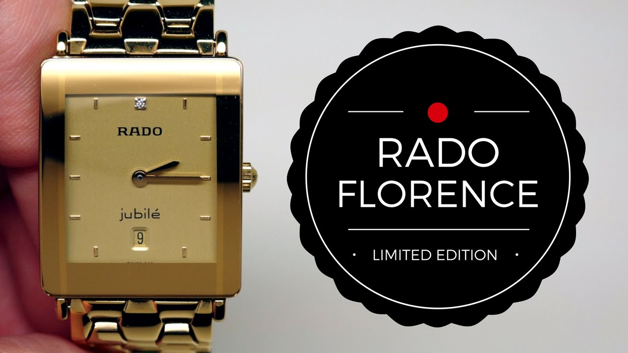 aef9ff0a6 (4K) RADO FLORENCE GOLD WOMEN'S WATCH REVIEW MODEL: R48843253 by  iReviewWatches.com