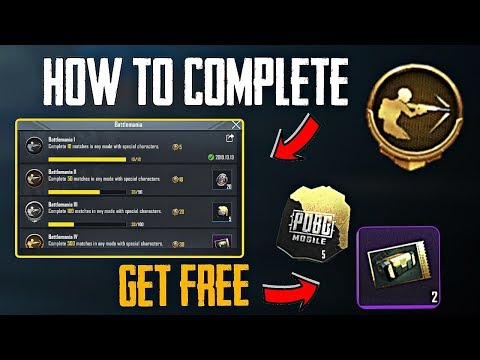 HOW TO COMPLETE BATTLEMANIA ACHIEVEMENT IN PUBG MOBILE ??