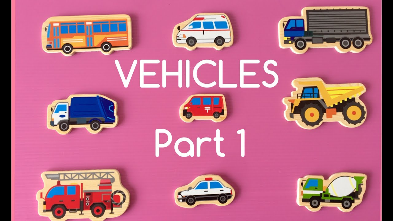 LEARNING DIFFERENT TYPES OF SPECIAL STREET VEHICLES NAMES AND