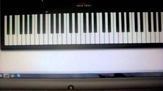 Титаник на виртуальном пианино