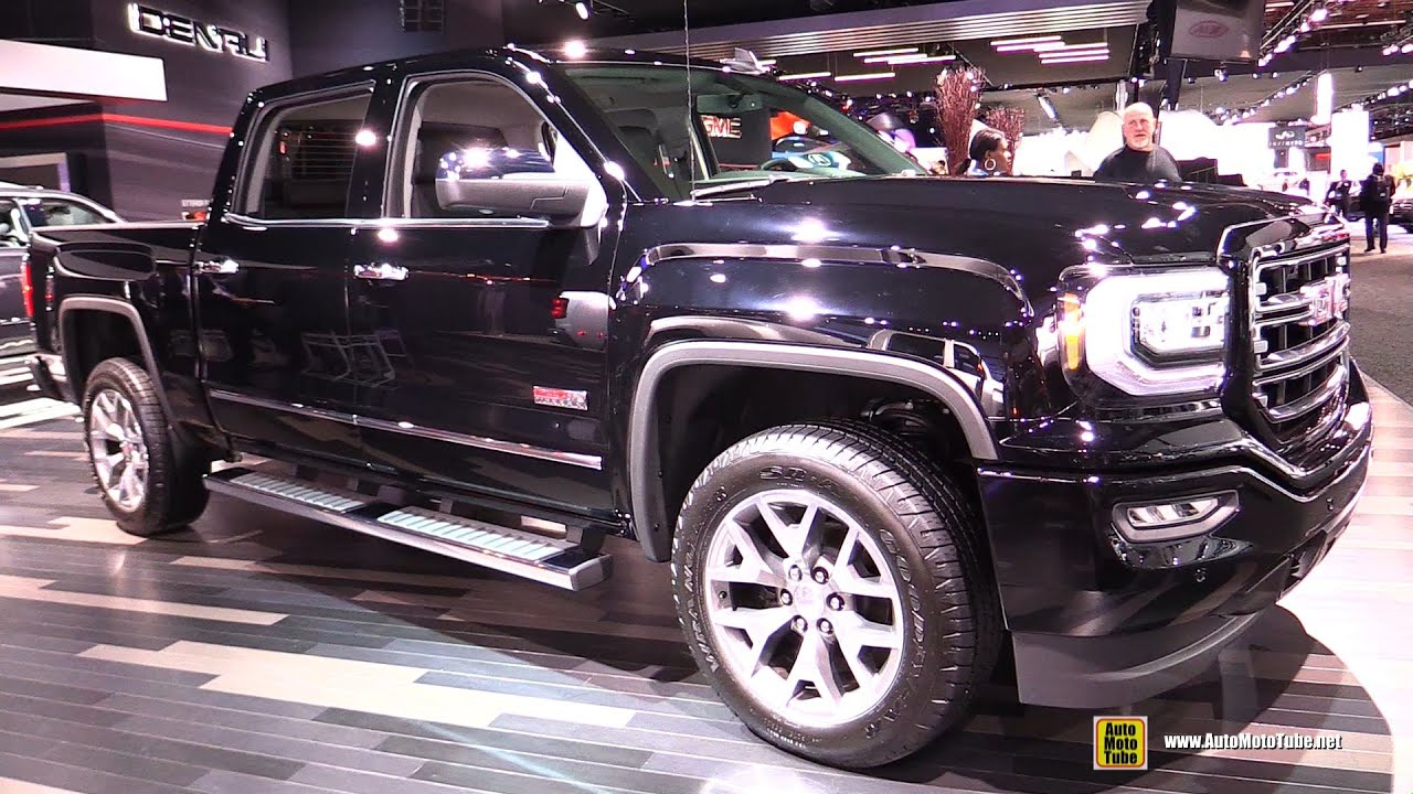2016 GMC Sierra All Terrain  Exterior and Interior Walkaround