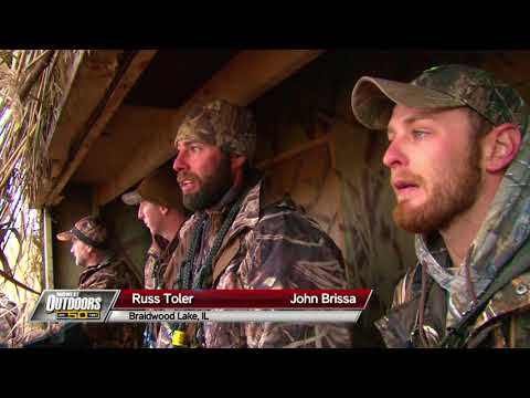 MidWest Outdoors TV Show #1645 - Illinois Duck Hunting At Braidwood Lake