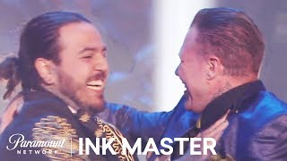 Tony Medellin is the Named 'Ink Master' | Ink Master: Grudge Match (Season 11)