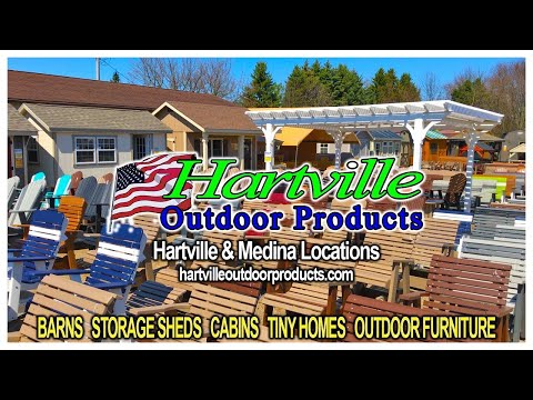 Medina Outdoor Furniture Store ~  Hartville Outdoor Products