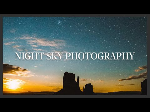 NIGHT PHOTOGRAPHY TUTORIAL | Astophotography thumbnail