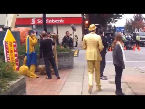 Step Up All In - Step Up 5 - In production - Actual Footage - Filming in Vancouver