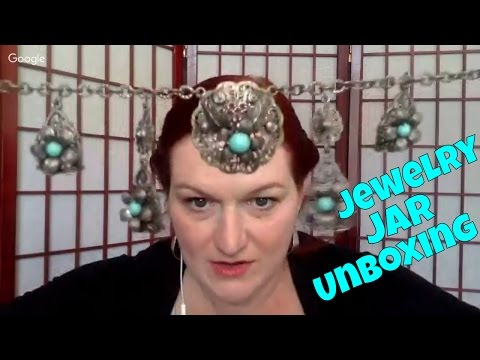 Live Jewelry Haul - Jewelry Jar Unboxing - Make Money Selling Online - Selling on Ebay & Etsy