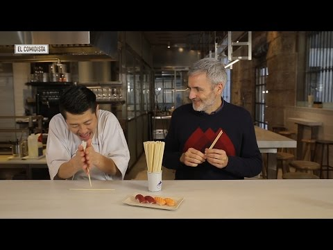 EL COMIDISTA   El sushi no se come así