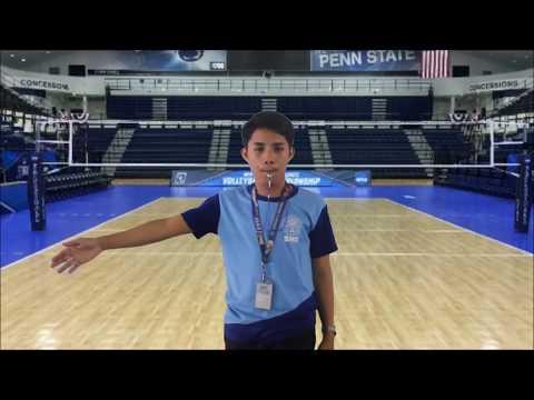 Volleyball Hand Signal