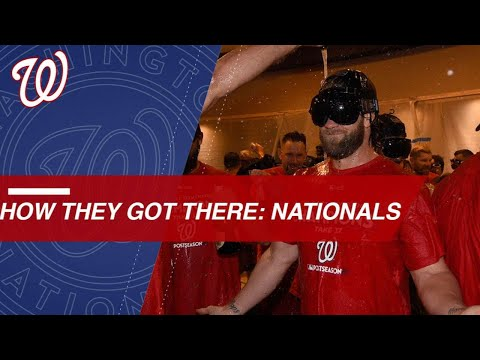 Nats dominate NL East to clinch first spot in postseason