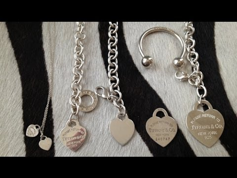 3d7402c70 TIFFANY & CO. HEART TAG - SIZES! - YouTube
