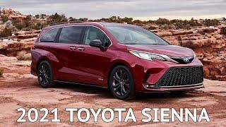 2021 Toyota Sienna: First Look