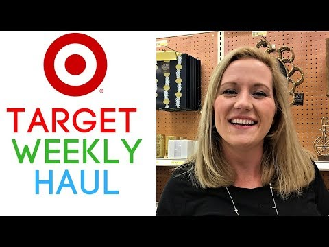 Target Couponing Weekly Video (10/22-10/28) Grocery Deals, Hair Care & Laundry Care!