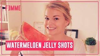 Watermeloen Jelly Shots - FEMME