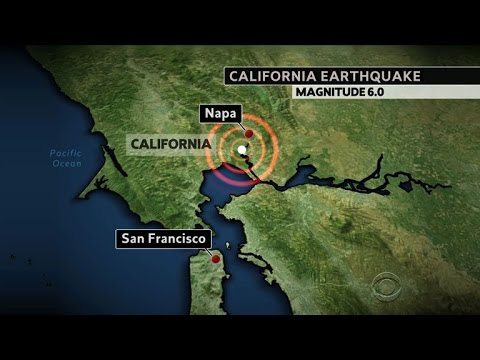 Northern California rocked by strong earthquake