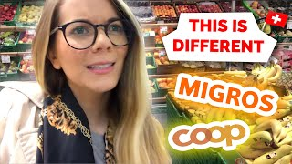 USA vs Switzerland | Grocery Shopping Differences