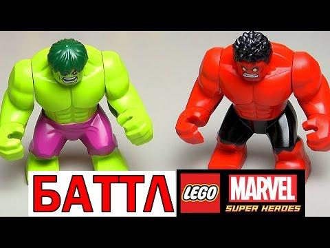 LEGO Marvel Super Heroes 76047 Преследование Чёрной Пантеры - обзор по фильму Гражданская война