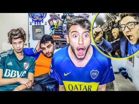 Boca 2 Palmeiras 0   SEMIFINAL IDA Copa Libertadores 2018   Reacciones de Amigos