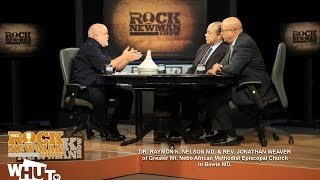 Dr Raymon Nelson & Rev  Jonathan Weaver with Rock Newman