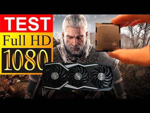 The Witcher 3 - ТЕСТ Core i9 7980XE с GTX 1080Ti в Full HD