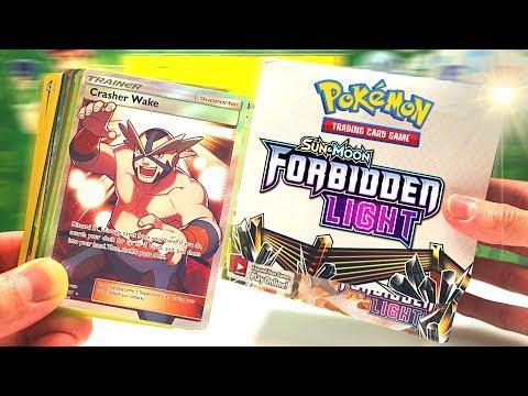 Opening a Forbidden Light Pokemon Booster Box! - English