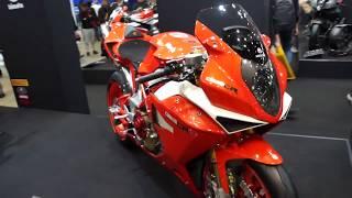 TMCS-42 ビモータ/ DB5 CR/ 展示 バイク 動画/ BIMOTA( モトコルセ・MOTO CORSE )~ 2018年 東京モーターサイクルショー thumbnail