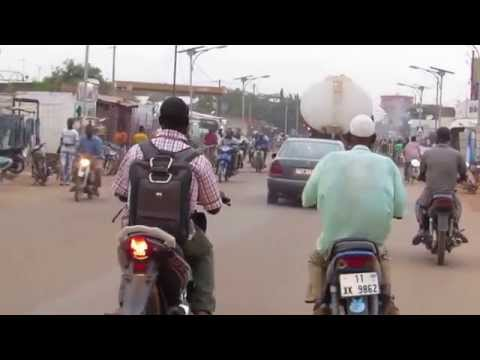 Traffic in Ouagadougou