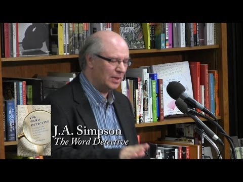 "John Simpson, ""The Word Detective"""