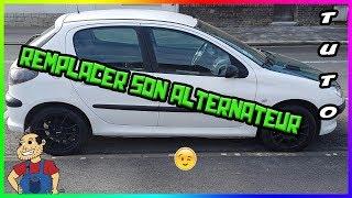 🛠 Remplacer 🛠 son alternateur 😲 206  Peugeot 🚗1.4 hdi