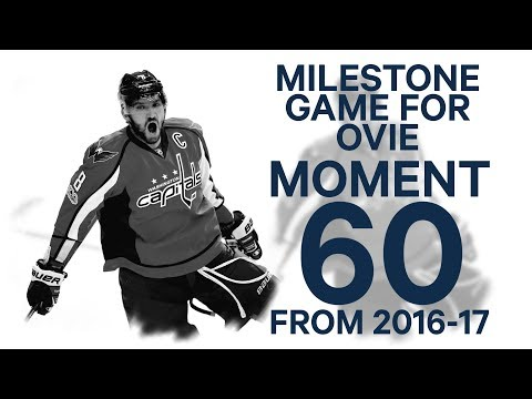 No. 60/100: Ovechkin snipes one past Fleury for 1000th NHL point