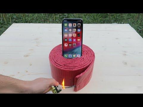 iPhone Xs vs 1000 Firecrackers