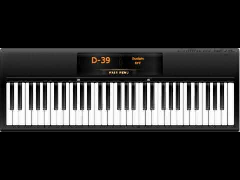 Virtual Piano - Yiruma, Kiss The Rain (Tutorial)